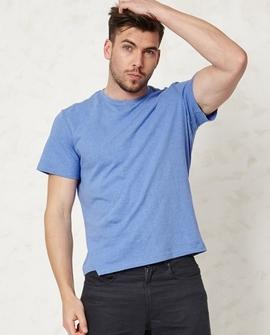 Basic T-shirt, blå