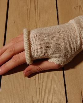 Håndledsvarmer, råhvid