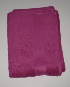Badehåndklæde, rosa
