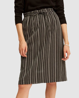 Gina nederdel, stribet