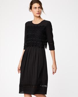 Aubriana kjole, sort