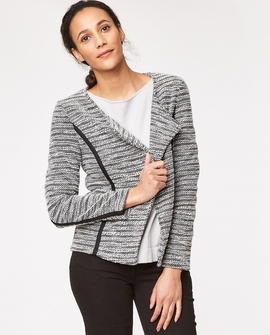 Melissa jakke, grå