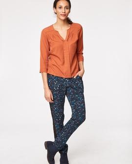 Victoria bluse, brændt orange