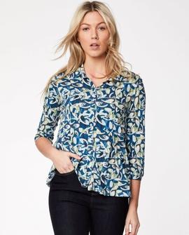 Charleston bluse, mønster