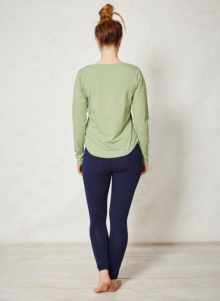 Bamboo Basic bluse, lysegrøn