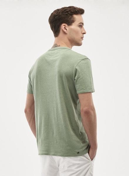 T-shirt. støvgrøn