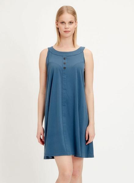 Kjole, blå