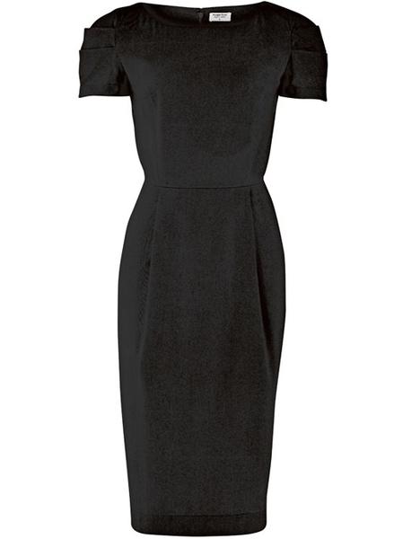 Delphine kjole, sort