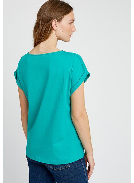 La Vie En Vert bluse, turkis