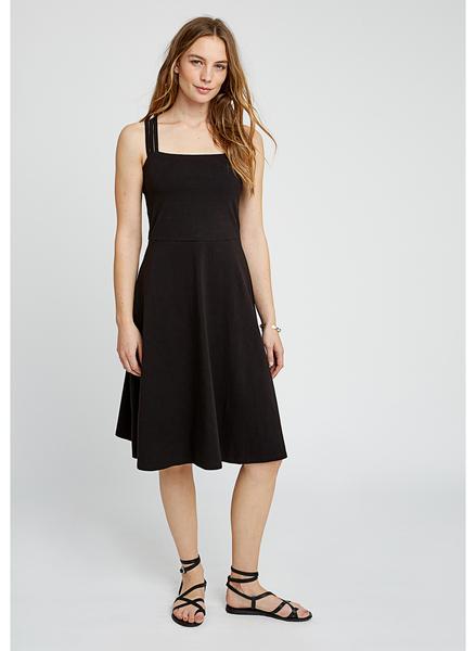 Riley Strappy kjole i sort