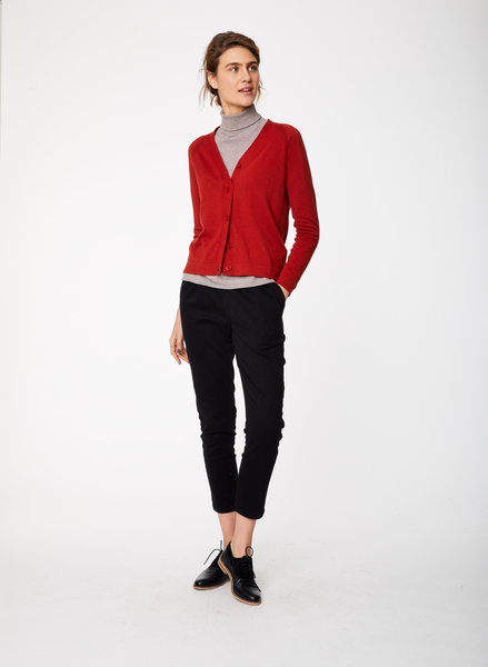 Irene cardigan, rød