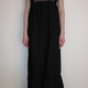 Isabella maxi kjole, sort