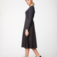 Sheba Dee kjole, koksgrå